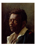 Bust Portrait of a Negro Giclee Print by Théodore Géricault