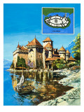 Chateau of Chillon Giclee Print by  Green