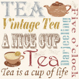 Tea Passion Prints by  Freyman