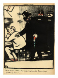 A Prisoner Is Exiled Giclee Print by Félix Vallotton