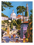 Portmeirion Giclee Print by  Green