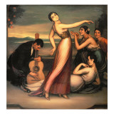 An Allegory of Happiness Giclee Print by Julio Romero de Torres