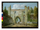 Reading: Abbey Gate Giclee Print by Paul Sandby