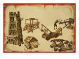 Siege Machinery Giclee Print by  Escott
