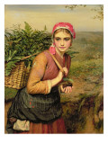 The Fern Gatherer Giclee Print by Charles Sillem Lidderdale