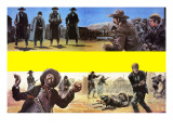 Showdown at Tombstone Giclee Print by Graham Coton