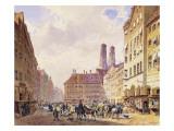 Marienplatz, Munich Giclee Print by Friedrich Eibner