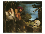 Et in Arcadia Ego Giclee Print by  Guercino (Giovanni Francesco Barbieri)