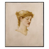 The Head of a Woman Giclee Print by Edward Burne-Jones