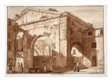 Portico of Octavia, 1833 Giclee Print by Agostino Tofanelli