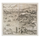 View of Santander, 1576 Giclee Print by Joris Hoefnagel