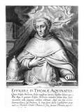 St. Thomas Aquinas Giclee Print by Cornelis Boel