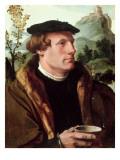 Portrait of a Gentleman Giclee Print by Maerten van Heemskerck