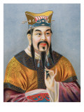 Confucius Giclee Print by Chinese School
