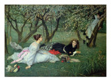 Spring Giclee Print by James Tissot