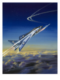 The Lightning Giclee Print by Wilf Hardy