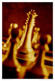 Sepia Chess V Art by Jean-François Dupuis