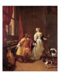 A Musical Interlude Giclee Print by  Verkolje
