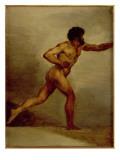 Study of a Man Giclee Print by Théodore Géricault