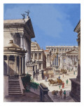The Forum Giclee Print by Peter Jackson