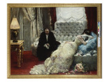 Return from the Ball, 1879 Premium Giclee Print by Henri Gervex
