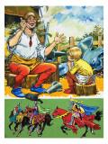 Soldier's Tales Giclee Print by Jesus Blasco