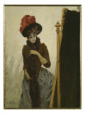 Before the Swing Mirror Giclee Print by Émile Gallé