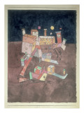 Part of G, 1927 Giclee Print by Paul Klee