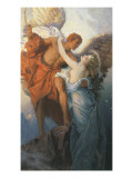 Day and the Dawnstar Giclee Print by Herbert James Draper