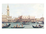 Venice from the Bacino Giclee Print by  Canaletto