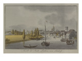 View of Potsdam, C. 1796 Reproduction proc&#233;d&#233; gicl&#233;e par Johann Friedrich Nagel