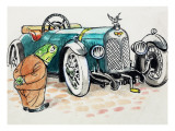 Toad of Toad Hall Premium Giclee Print by  Mendoza