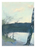 Landscape Premium Giclee Print by Lesser Ury