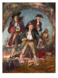 Treasure Island Giclee Print by John Millar Watt