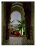 An Odalisque on a Terrace Giclee Print by David Noter