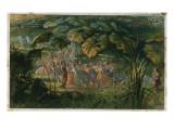 Fairy Dance in a Clearing Lámina giclée por Richard Doyle