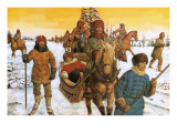 Ivan the Great in a Sleigh Impresso gicle por Richard Hook