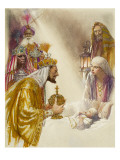 Three Wise Men Giclee Print by John Millar Watt
