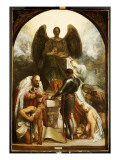 The Angel of Death Giclee Print by George Frederick Watts