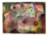 With the H, 1916 Giclee Print by Paul Klee
