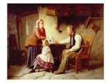 In Disgrace, 1875 Giclee Print by William Henry Midwood