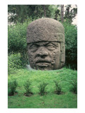 Colossal Head Giclee Print by  Olmec