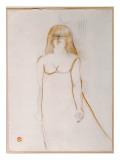 Mademoiselle Cocyte, 1900 Giclee Print by Henri de Toulouse-Lautrec