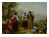 The Pilgrim Giclee Print by  Philippeau