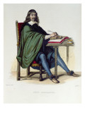Rene Descartes Giclee Print by Claude Jacquand