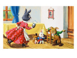 Brer Rabbit Exhausted Giclee Print by Virginio Livraghi