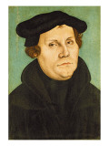 Luther as Professor, 1529 Giclee Print by Lucas Cranach the Elder