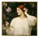 Vanity, C.1908-10 Giclee Print by John William Waterhouse