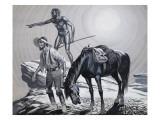 Edward Eyre Giclee Print by Ron Embleton