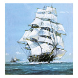 The Cutty Sark Giclee Print by John S. Smith